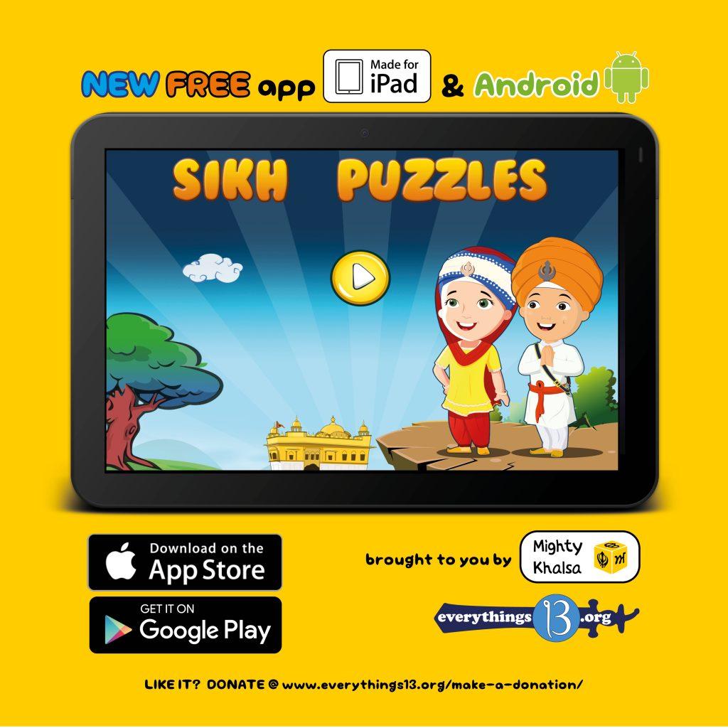 Sikh Puzzles – Mighty Khalsa
